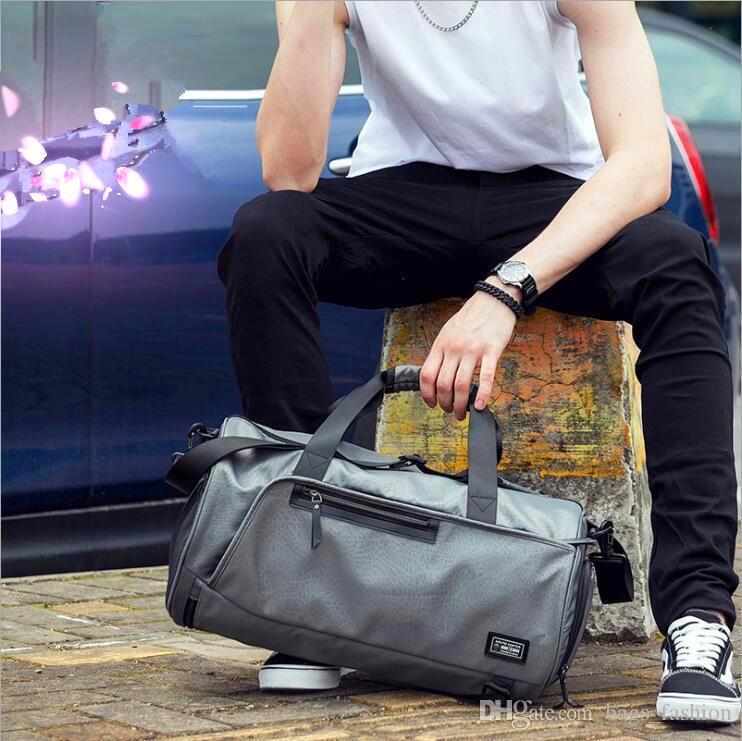e9b488e4f Men Travel Bag Folding Protable Molle Women Tote Waterproof Nylon Casual  Travel Duffel Bag Black Luggage Travel Bag Totes Satchel From Bags_fashion,  ...