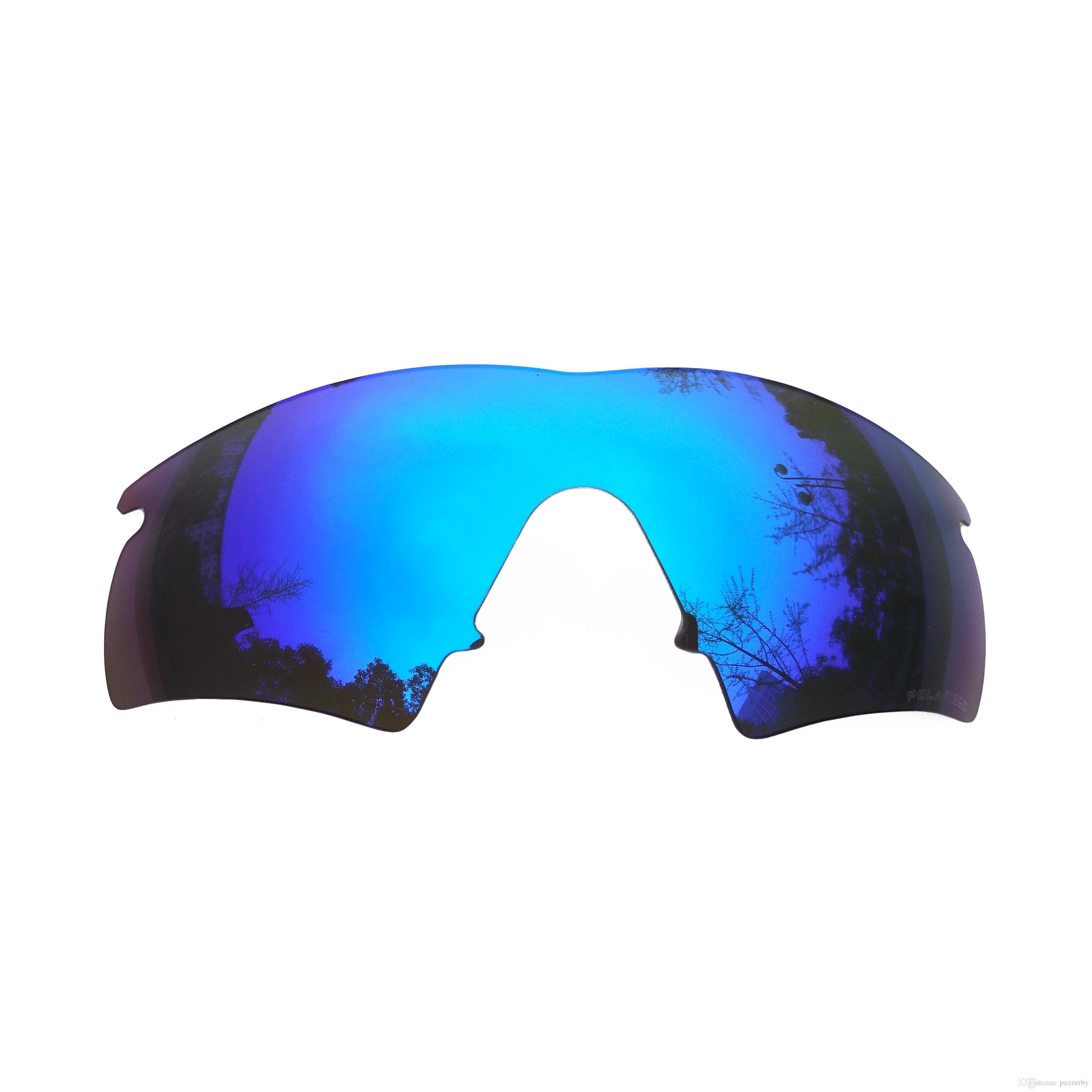 baebdebf3a Compre Lentes De Repuesto Polarizadas Con Espejo De Color Azul Hielo Para  Gafas De Sol Híbridas M Frame Anti Polvo De Agua Salada A $15.22 Del  Pazzerby ...