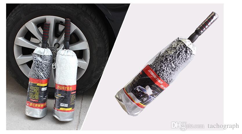 Автомобильный воск щетки сверхтонких волокон утолщение воск прицеп, телескопическая щетка воска, циркулярная пыль тряпкой, автомойка оптовой торговля.