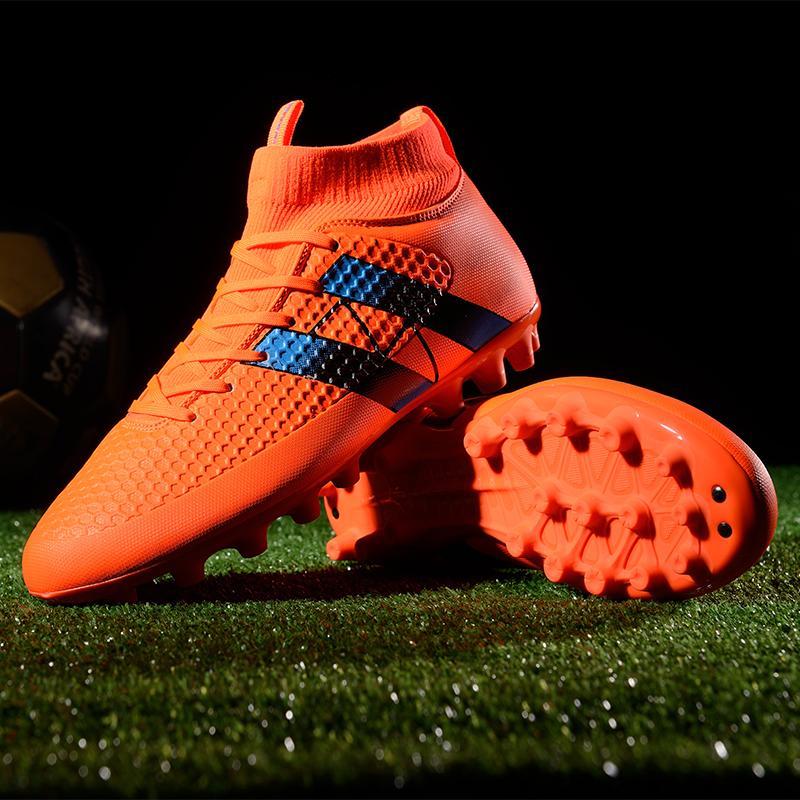 f1db3810e09 2018 Mens High Ankle FG Soccer Cleats Hypervenom Phantom III DF Soccer  Shoes Neymar IC Football Boots Cleats Men Football Shoes Cheap Wedge Boots  Waterproof ...