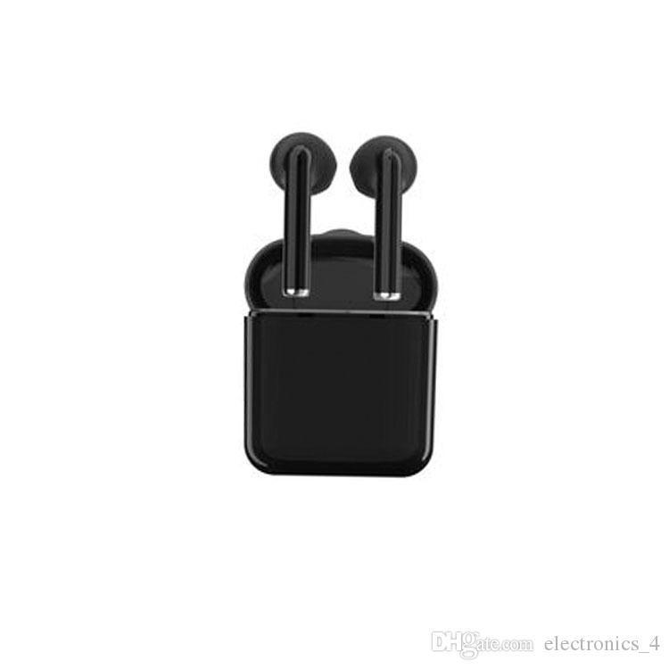 2017 New pattern i7 bluetooth earphone Double wireless headphones Upgrade standby time with Rechargeable storehouse cool