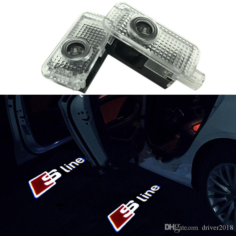 2019 car led door warning light welcome logo projector for all audi2019 car led door warning light welcome logo projector for all audi a4 a5 a6 q3 q5 q7 tt rs s line from driver2018, $30 16 dhgate com