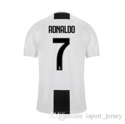 83617b2322a 2019 2019 #7 RONALDO Soccer Jersey 18/19 DYBALA Goalkeeper Soccer Shirt  MARCHISIO MANDZUKIC PJANIC HIGUAIN Juventus Home Third Football Uniform  From ...
