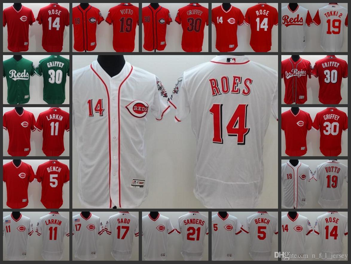 6fb5000be0f ... jersey  online for sale 82082 e6cf6 cincinnati reds men jerseys 5  johnny bench 19 joey votto 21