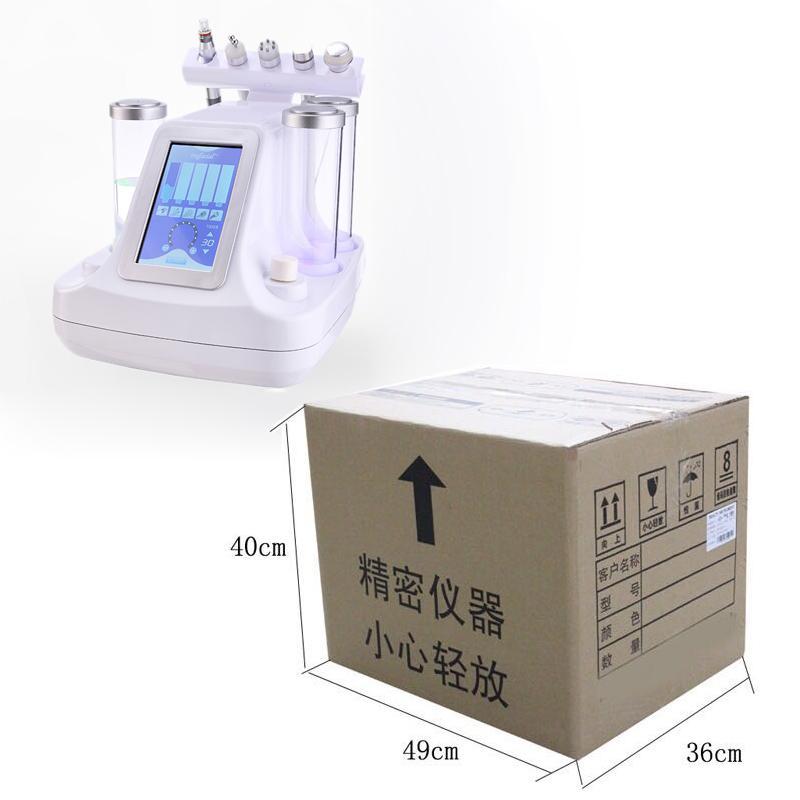 2018 جديد 5in1 هيدرو جلدي الوجه آلة المياه المهنية آلة تقشير الماس اللوازم الطبية العناية بالوجه تجديد الجلد