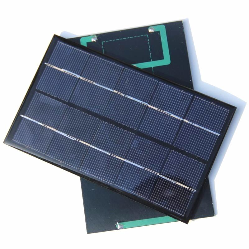 Mini Solar Module Solar Cell 1.9W 5V Small Solar Panel for Battery Charger DIY Polycrystalline 88*142MM