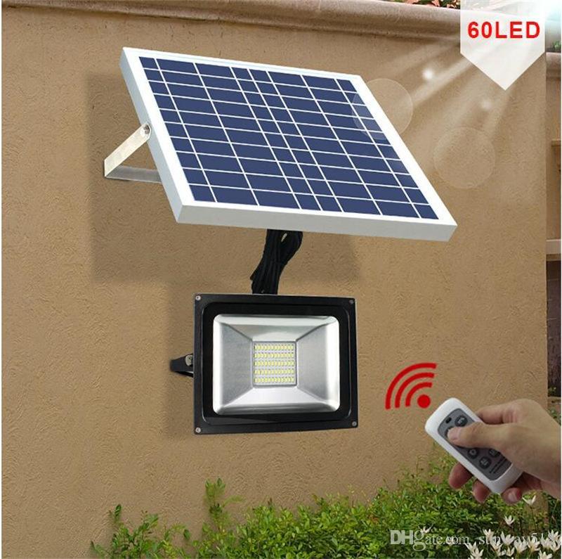 Grosshandel Solarbetriebene Led Lampe Ferngesteuerte Hausgarten