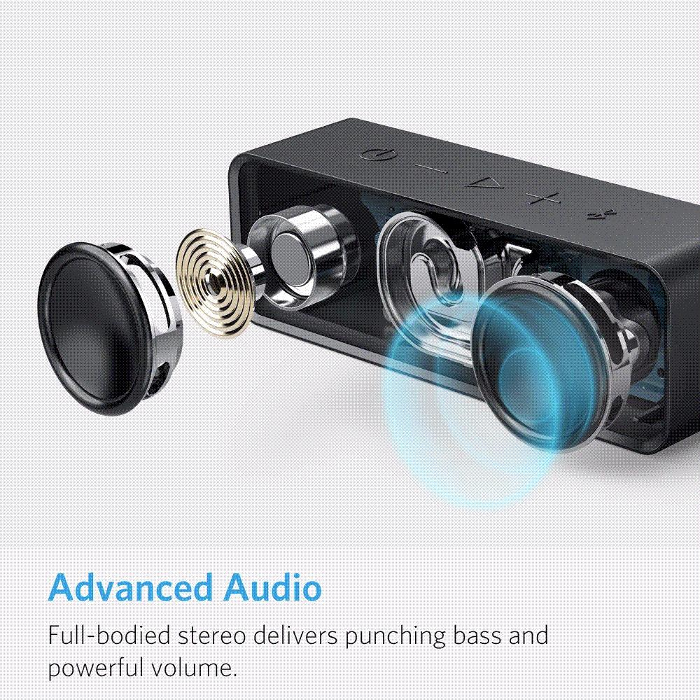 Anker Soundcore Portable Wireless Bluetooth Speaker With Dual Driver ...