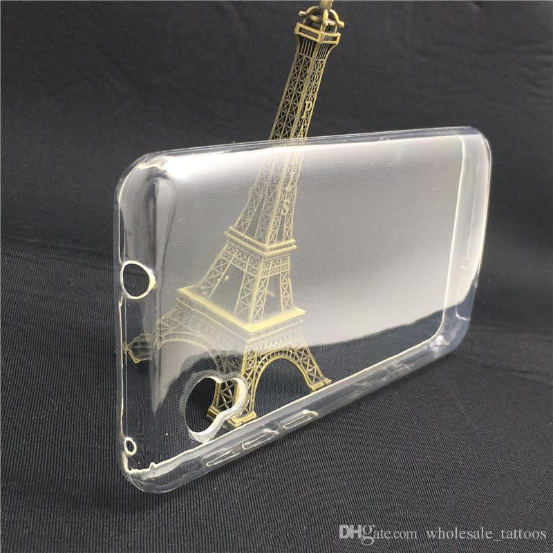 pretty nice a802e 40f07 Transparent Crystal Clear TPU Phone case For Alcatel 1 OT-5033O Samsung  Glaxy Note 9 J8 2018 A8 Star A9 Star J7 Duo Silicone Soft Cover