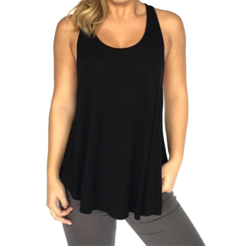 40740d9f46 2019 Vertvie Women Yoga Shirts Sports Top Fitness Female Tank Top Solid Sleeveless  Shirt Loose Tank Tops Sexy Backless Sportswear From Vanilla12, ...