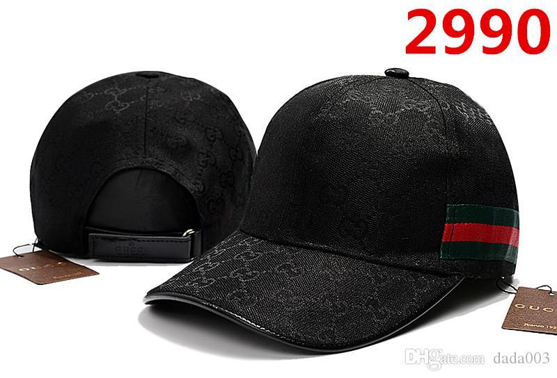 Compre Comercio Al Por Mayor Negro Gorra De Béisbol 100% Algodón Marca De  Moda Gorra Bordado Sombreros Para Hombres Tapas 6 Panel Snapback Sombrero  Hombres ... beda776a2b6