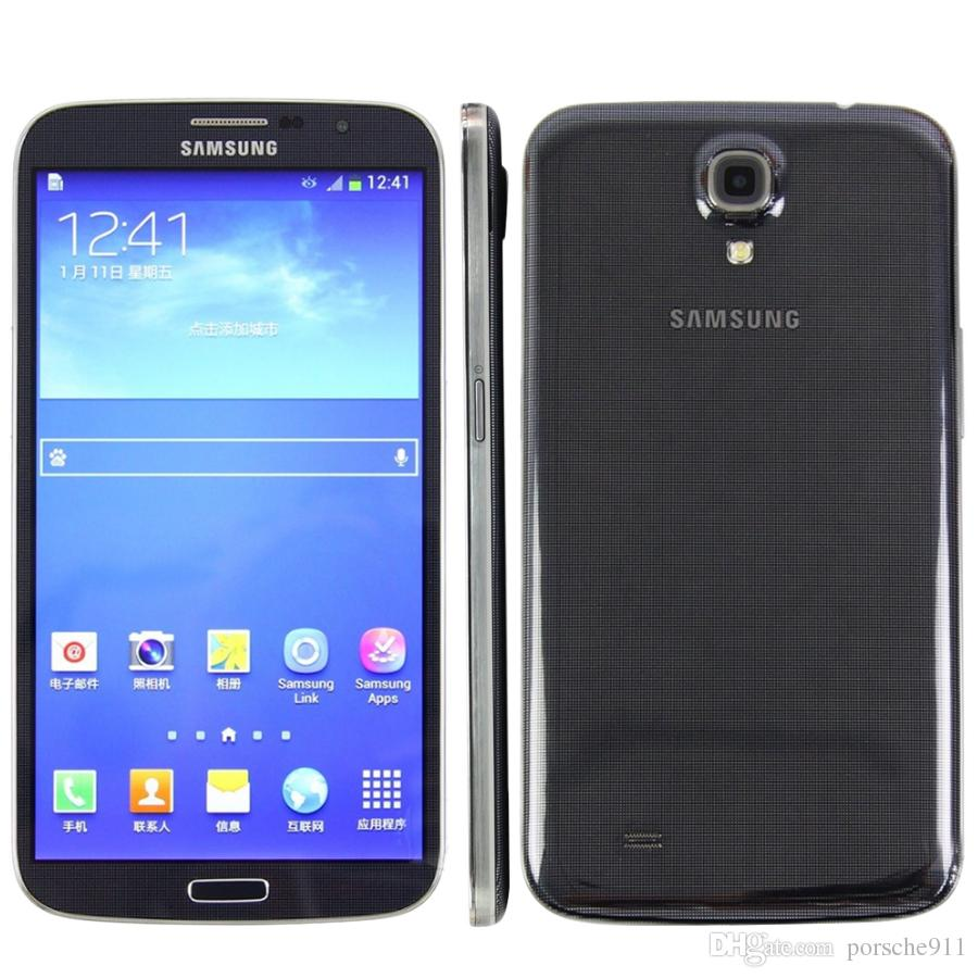 Original Refurbished Samsung Galaxy Mega 6.3 I9200 Mobile Phone 6.3 inch Dual Core 1.5GB+16GB 8MP 3200mAh Battery unlocked Smart phone