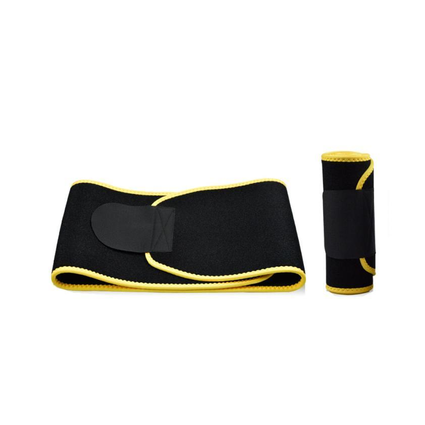 Waist Slimming Burn Fat Sauna Sweat Loss Weight Trimmer Exercise Belt-0807