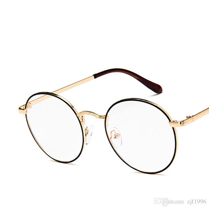 a7e0edf94f 2018 Round Spectacle Glasses Frames For Harry Potter Glasses With Clear  Glass Women Men Myopia Optical Transparent Glasses Eyewear Designer  Sunglasses From ...