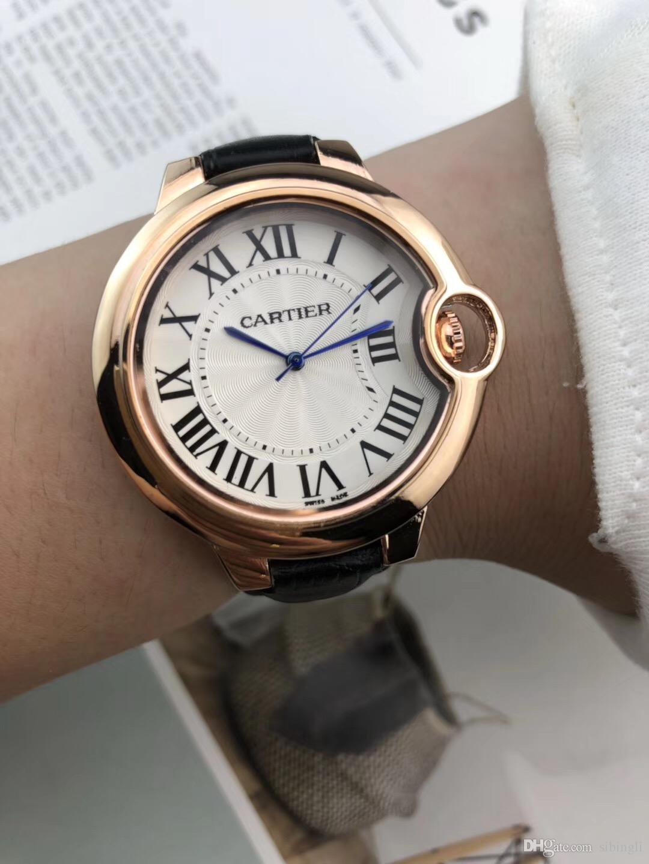 3b7cbff3e37 Compre Nova Tendência Simples Moda Feminina Dress Casual Pulseira De Couro Relogio  Feminino Marca De Luxo Senhora Relógio De Quartzo De Sibingli