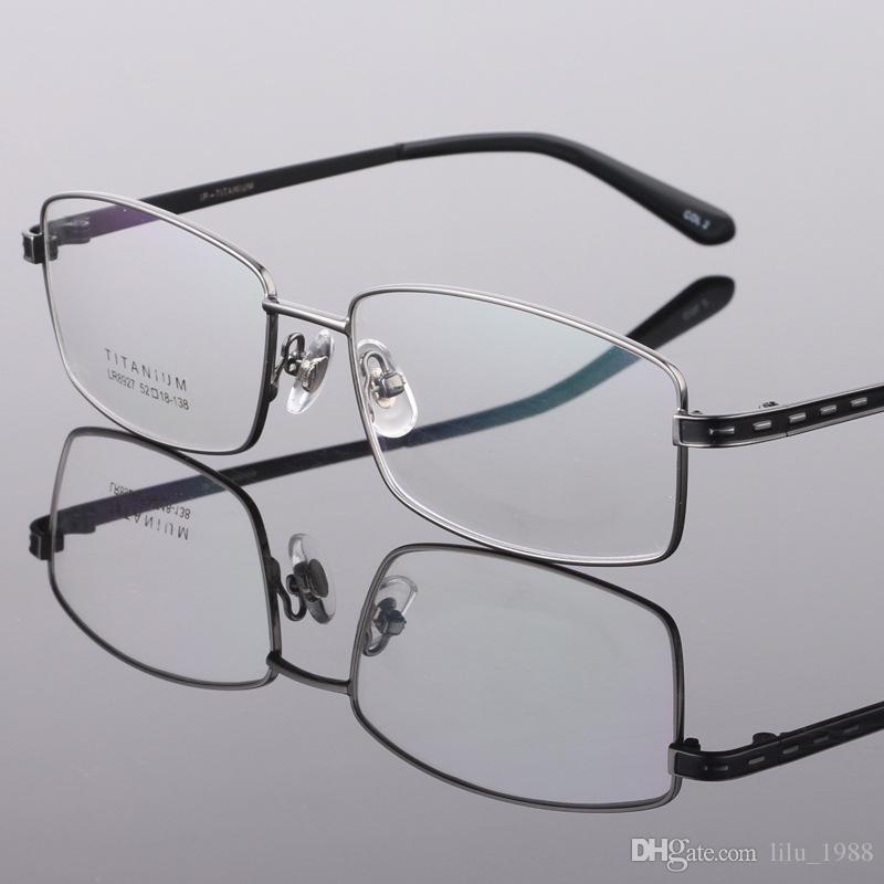 f88098e520 Compre Monturas De Titanio Para Gafas, Montura De Gafas Sin ...