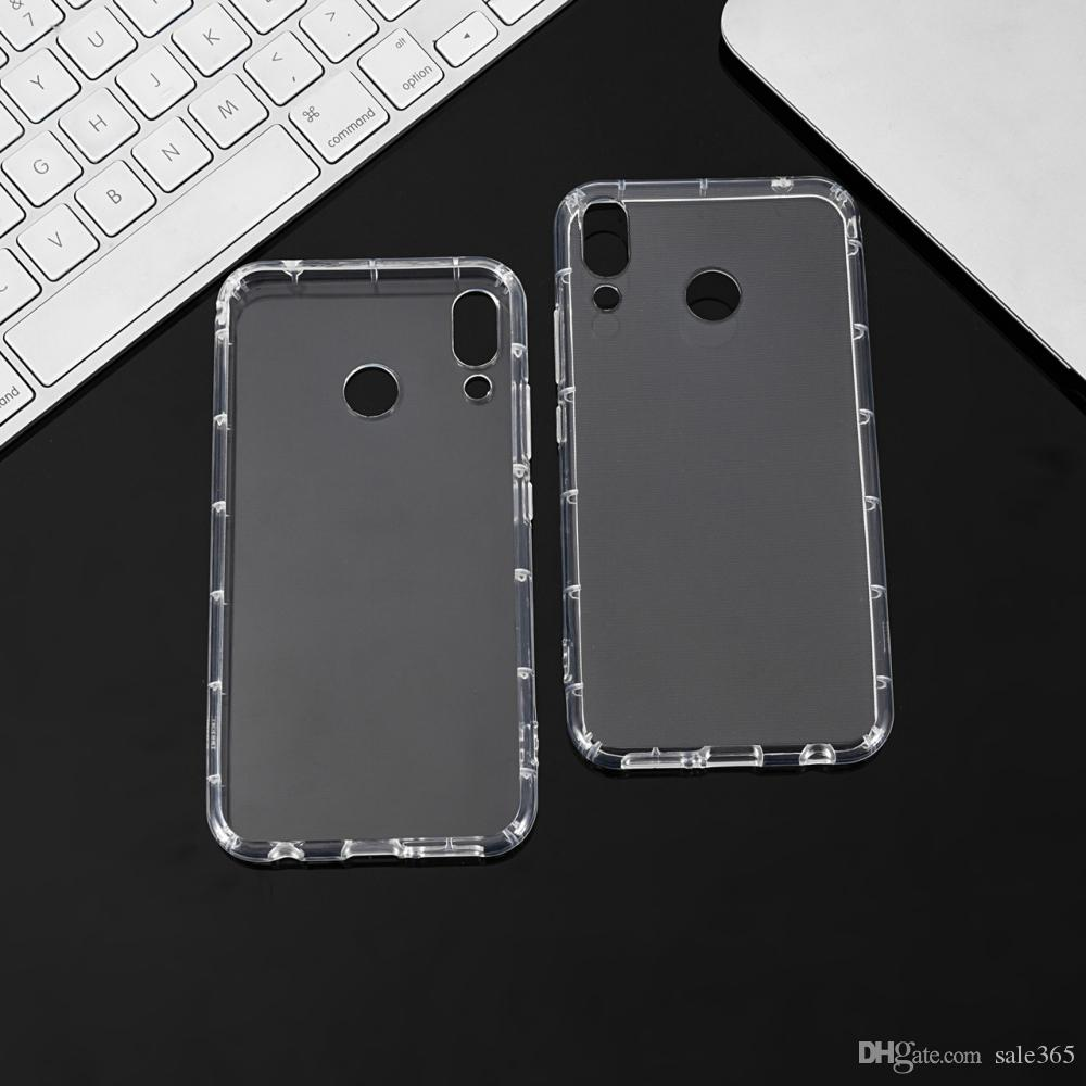 07b7a3b97a4dd Super Shockproof Transparent Anti Knock Air Cushion Case For XiaoMi 8 SE 6X  5X 5S 6 Plus 5C RedMi Note 4X 4 S2 Phone Case Custom Phone Cases From  Sale365