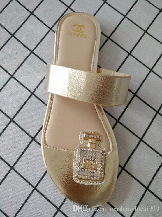 9d3e47fa78b 2018 Brand Wonen Sandals Big Size 35-42 Flip-flops Red Sandals with ...