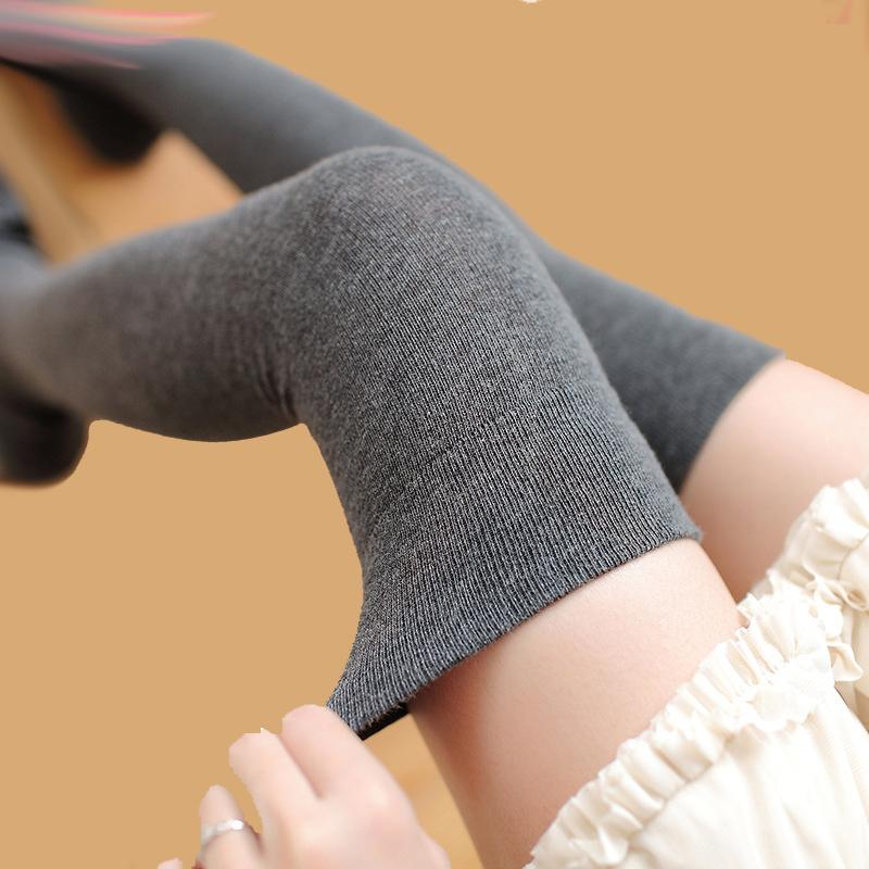 5c3737662 2018 New Fashion Women S Stockings Sexy Warm Thigh High Over The Knee Socks  Long Cotton Stockings For Girls Ladies Accessories S1017 Socks Womens Thigh  High ...