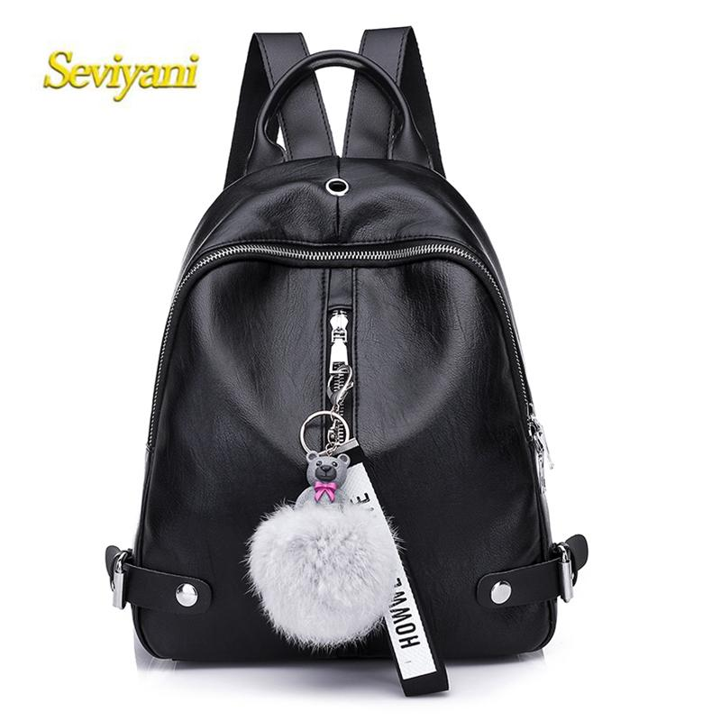 67ec9d640504 New Travel Backpack Korean Women Leisure Student School Bag Soft PU Leather  Luxury Designer Women Bag 8053 Kelty Backpack Camo Backpack From Shoe80777