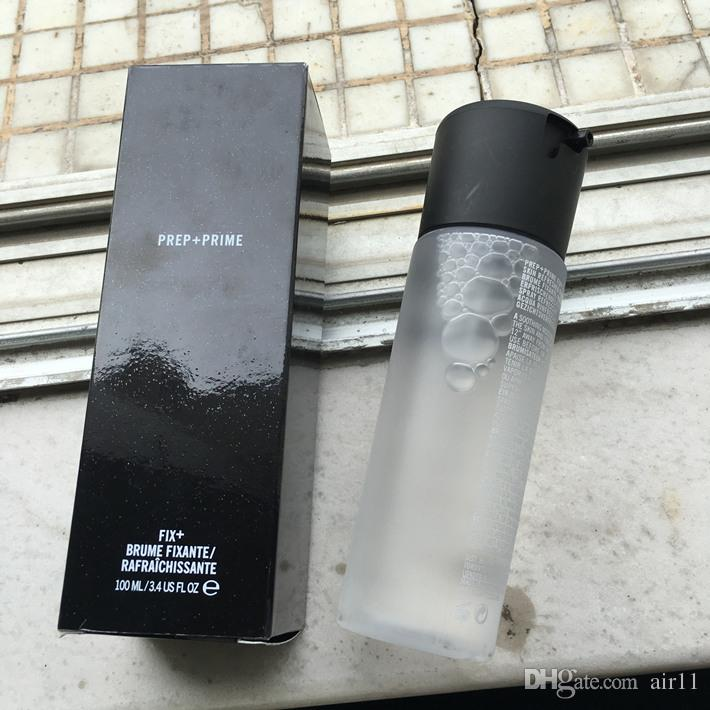 Prep de maquillage + Correction de la Fixante / Rafraichissante 100ml Fixer Fixer Spray Spray Hilicone naturel durable durable