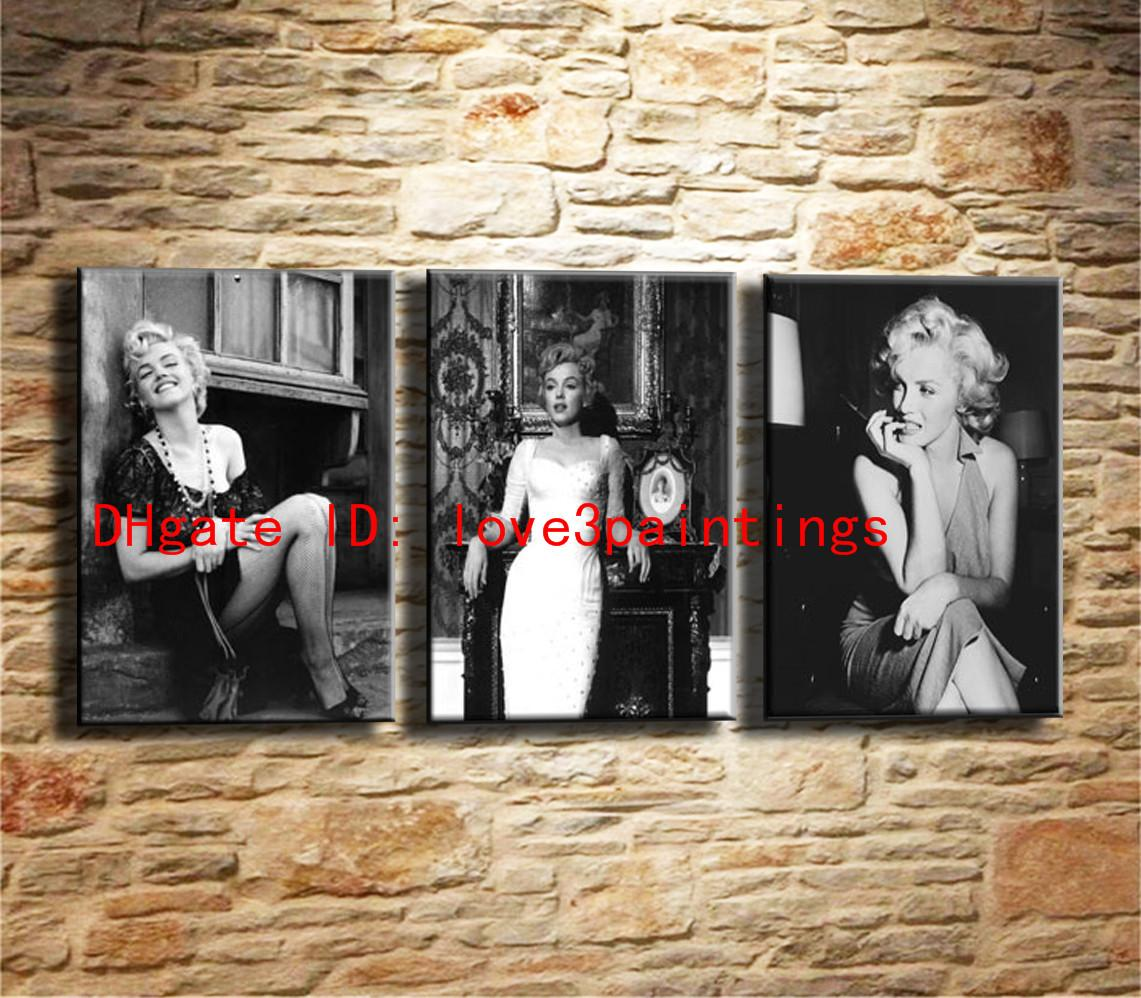 Best Marilyn Monroe,Home Decor Hd Printed Modern Art Painting On Canvas  Unframed/Framed Under $16.24 | Dhgate.Com