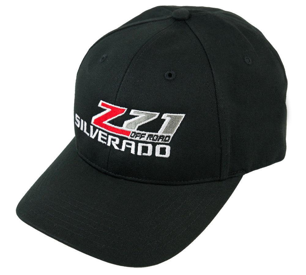 ebaef7492a3 Silverado Z71 Off Road Truck Hat Cap Black Chevrolet Chevy Includes Racing  Decal Flat Cap Trucker Hats From Ylingnei