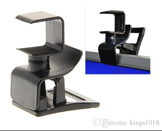 Venta caliente 2 Unidades PS4 Adjustable TV Clip Mount Holder Stand Soporte para Playstation 4 PS4 Console Sensor / Playstation 4 Cámara Eye Mount