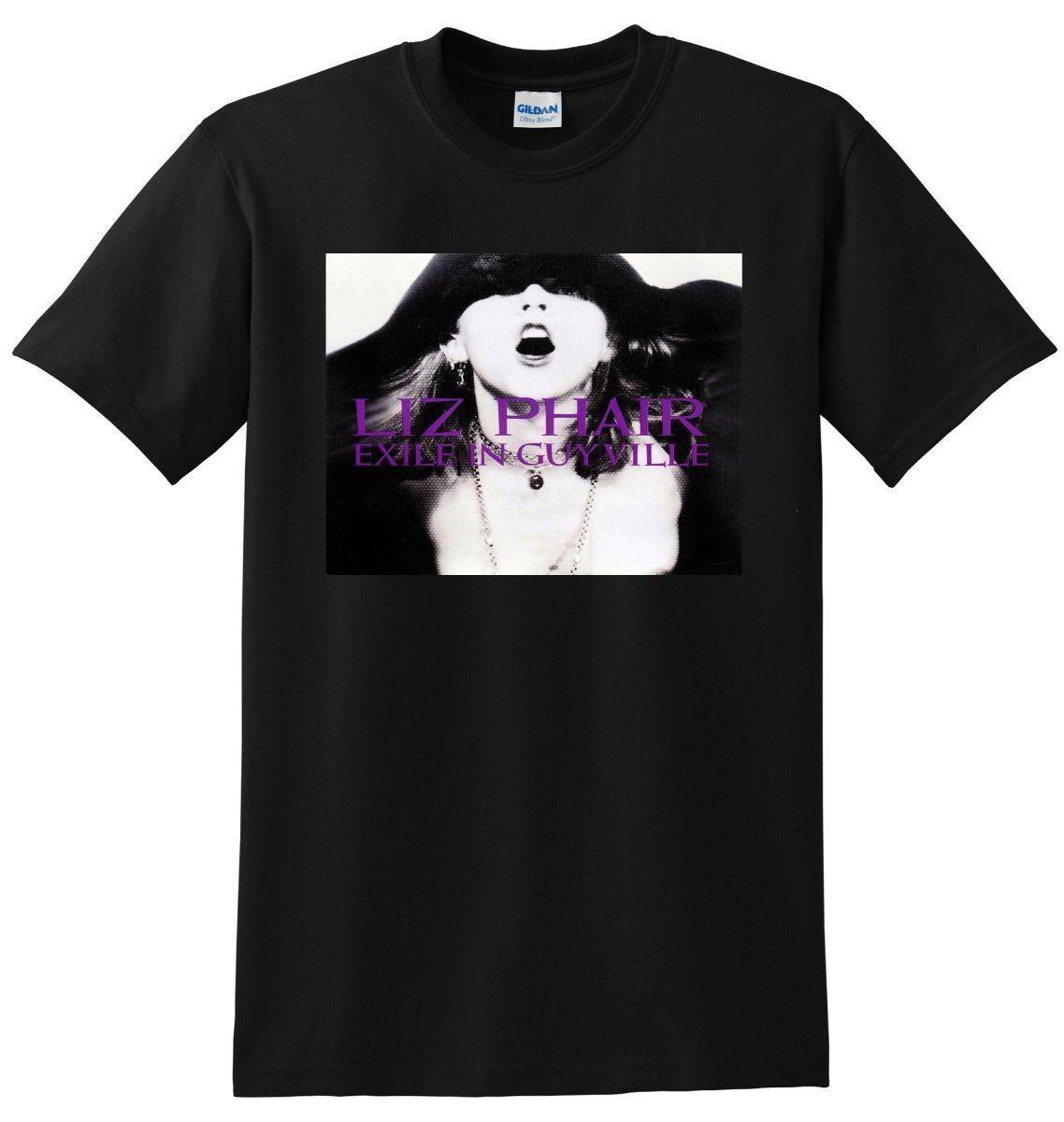 New Liz Phair T Shirt Exile In Guyville Vinyl Cd Cover Mens T Shirt