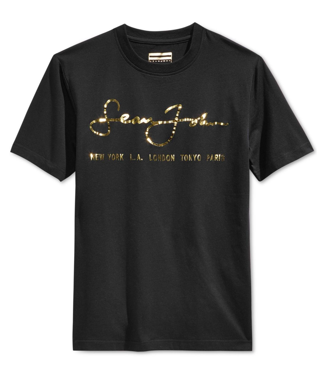 Compre Sean John Hombre Camiseta Gráfica Internacionalmente Conocida  Pmblack XL A  11.78 Del Biyue5  f141d3699c91e