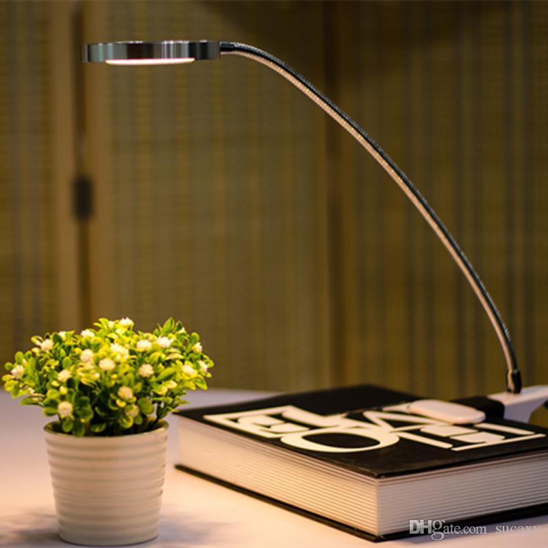 Bureau Lampe Flexible Table De Jour Apprentissage Usb Mini 5v Lecture Led On Blanc Clip Chevet Ovnm0wN8