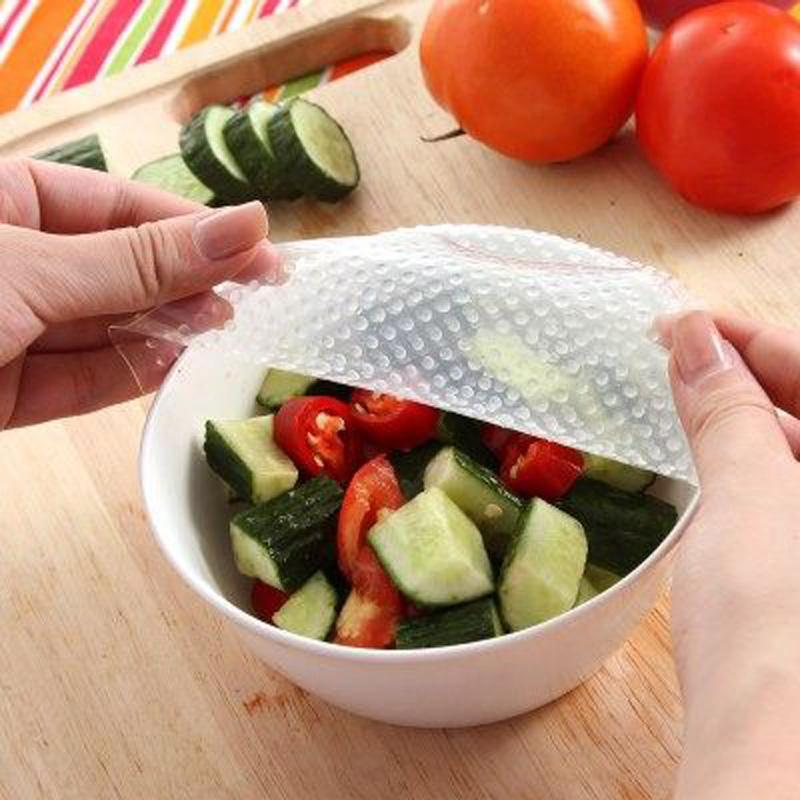 Kitchen-Silicone-Food-Seal-Cling-Film-Cover-Keep-Food-Fresh-Wrap-Stretch-Fresh-For-Refrigerator