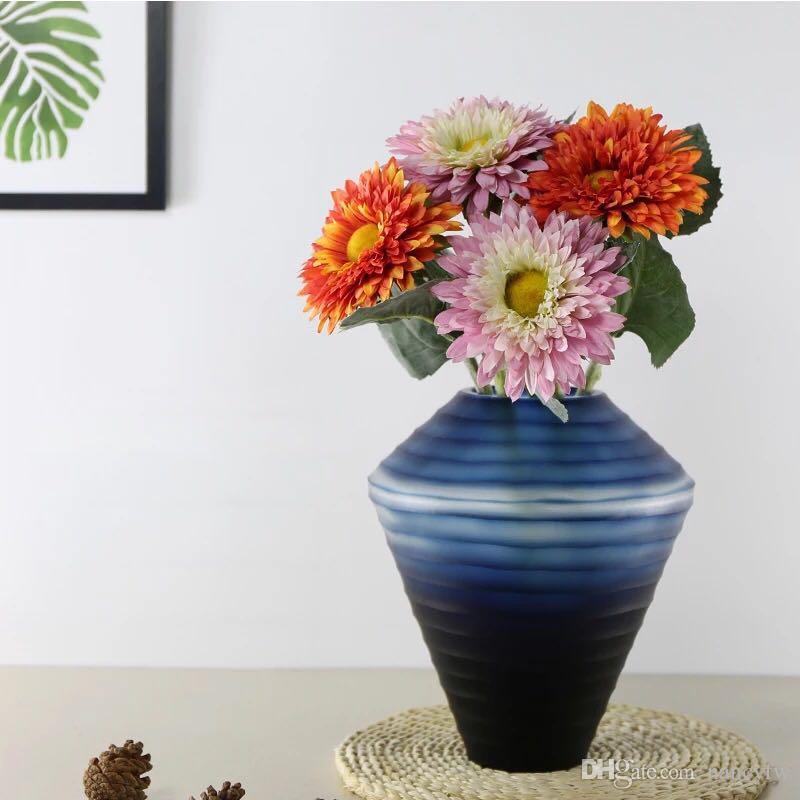 High Quailty Wholesale Faux Flower African Daisy Table Decoration