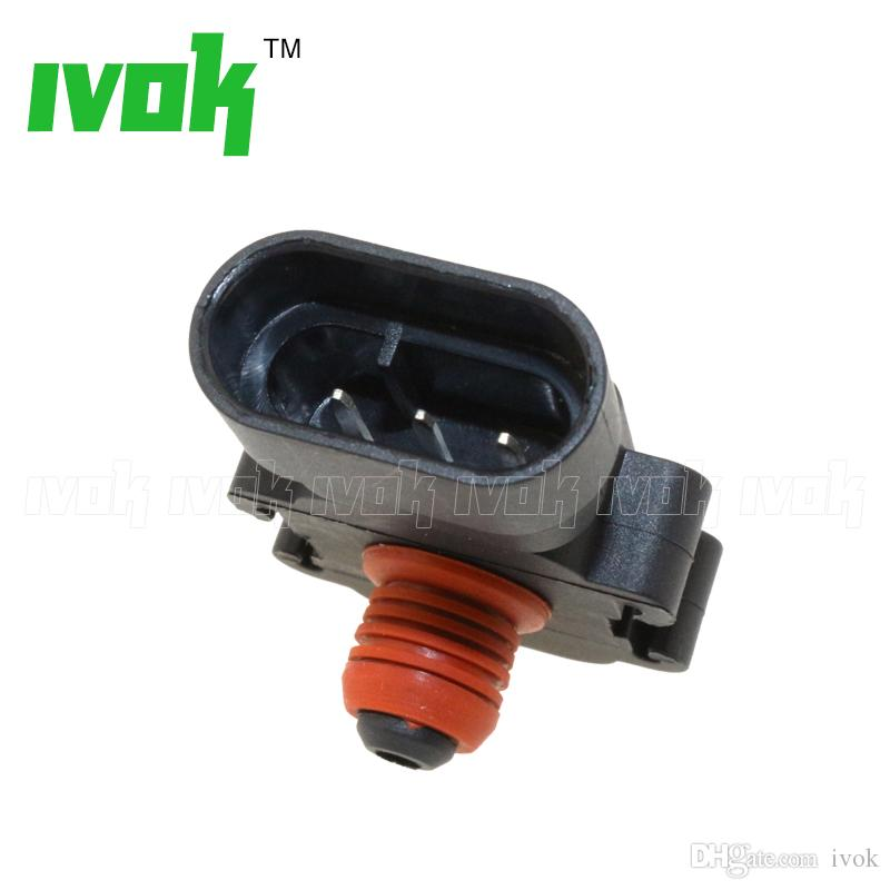 Brand New 1 Bar Absolute Pressure MAP Sensor For Cadillac Concours Deville DTS Eldorado Escalade Seville SRX STS XLR 4.6L 6.2L 16187556