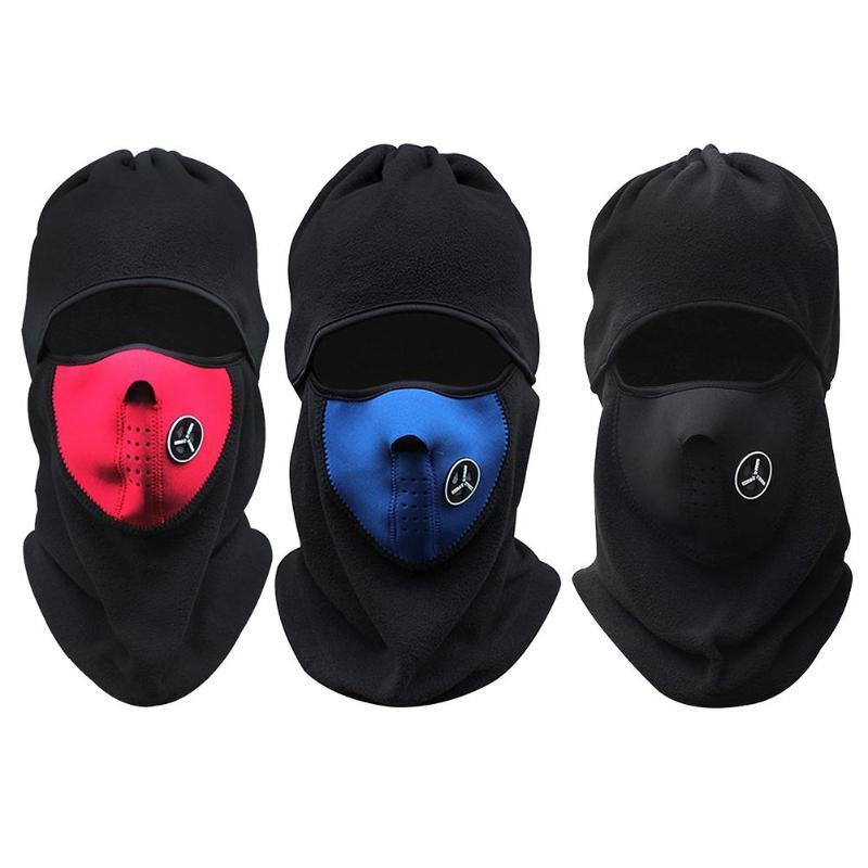 Winter Cycling Cap Fleece Keep Warm Windproof Face Mask Balaclava Sport Ski  Running Neck Hat Scarf Multifunction Full Face Mask Cycling Face Mask Cheap  ... 9cd490956157