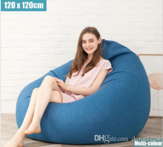 2019 Extra Large Bean Bag Chairs For Adults Kids Couch Sofa Cover