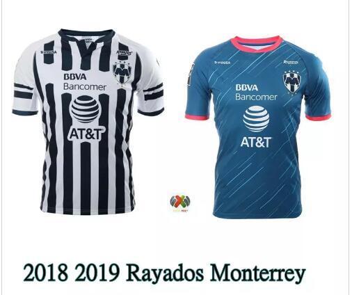 Anime 2019 Monterrey: Compre 2018 2019 Rayados Monterrey Jersey 18 19 Home Away