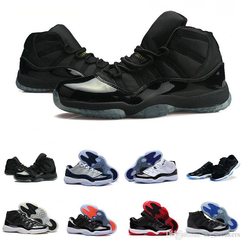 best sneakers 555de 808b1 Großhandel Nike Air Jordan 11 Retro Space Jam Heißer Verkauf 11s Herren  Damen Freizeitschuhe Toro Og Asg Schwarz Weiß Rot Gezüchtet Royal Blue Neu  ...