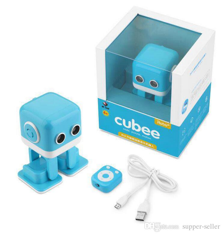 Cubee Robot Smart intelligent Dance Robot F9 toy Electronic Walking Toys App control Robot Gift For Kids Education Toy DHL free