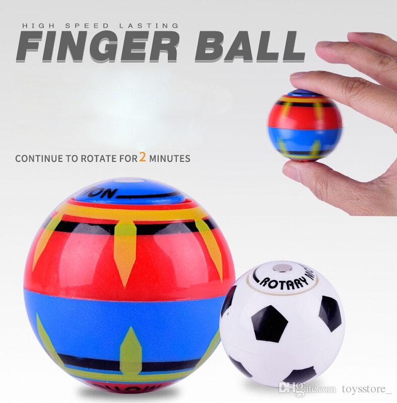 Finger magnetic ball Wallfire Magic Speed Induction Magneto Spheres Magnetic Flashing Glowing Ball Finger Anti Stress Spinner Toys