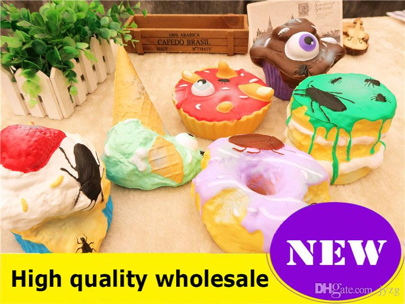 Welding & Soldering Supplies Cartoon Lovely Poo Pumpkin Bear Squeeze Squishy Slow Rising Antistress Fun Funny Gadgets Interesting Toys Kid Gift Decoration High Quality And Inexpensive