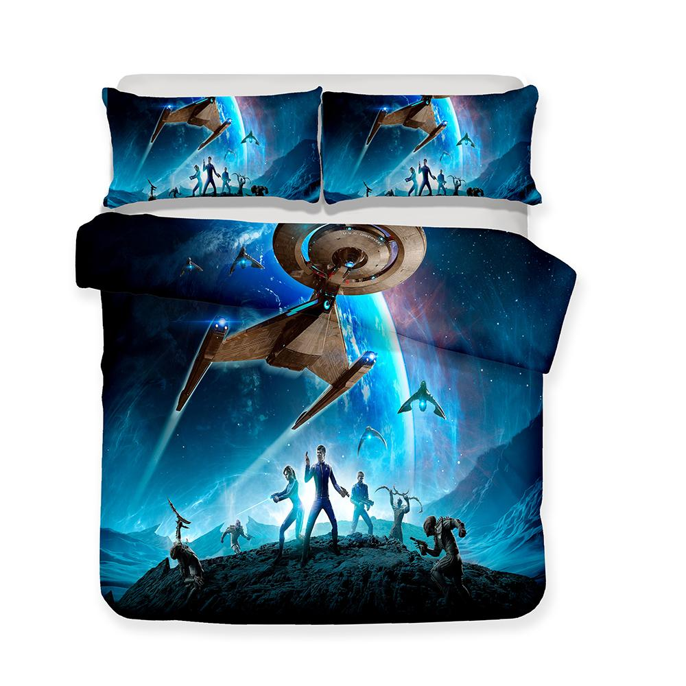 Copripiumino Kung Fu Panda.3d Printed Bedding Movie Star Trek Theme Bedding Sets Duvet Cover