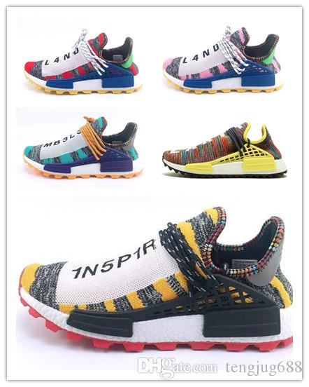 07089e06f 2019 NMD Human Race Hu Trail Pharrell Williams Peace 2018 New Mens Designer Sports  Running Shoes For Men Sneakers Women Trainers Outdoor Shoes From ...