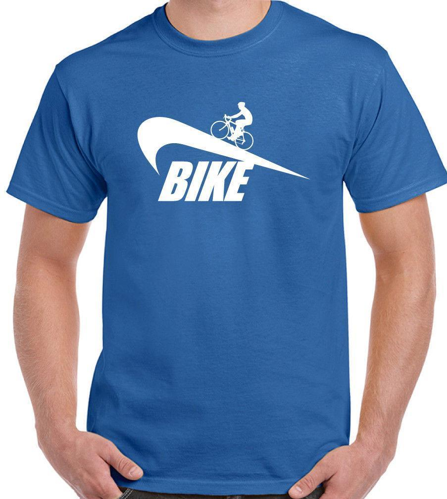Mens Funny Cycling Parody T-Shirt For Cyclists Mountain Road Bike MTB Bicycle