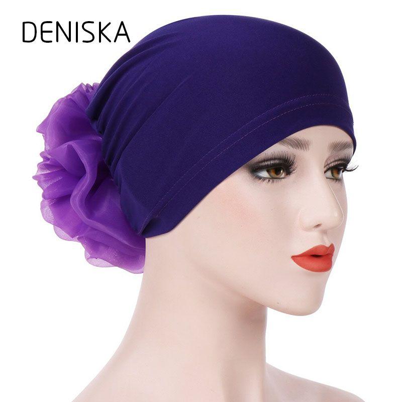 5c2b207531a Hot Sale Women Flower Muslim Ruffle Cancer Chemo Hat Beanie Scarf Turban  Head Wrap Cap Muslim Hooded Hat Crochet Baby Hats Ladies Hats From  Lbdfashion