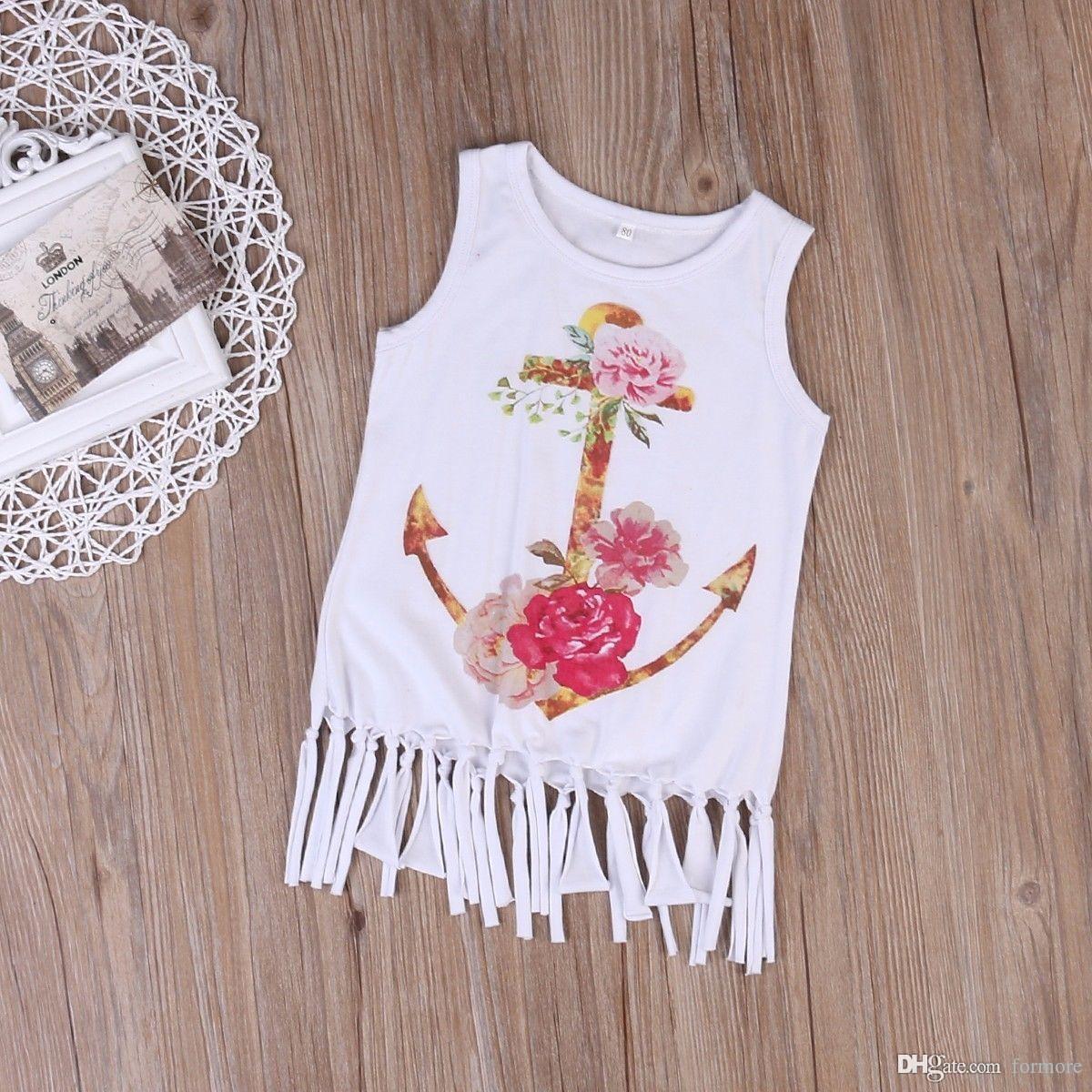 2017 Summer Girl T Shirt Baby Girl Clothes Children Clothing Fashion
