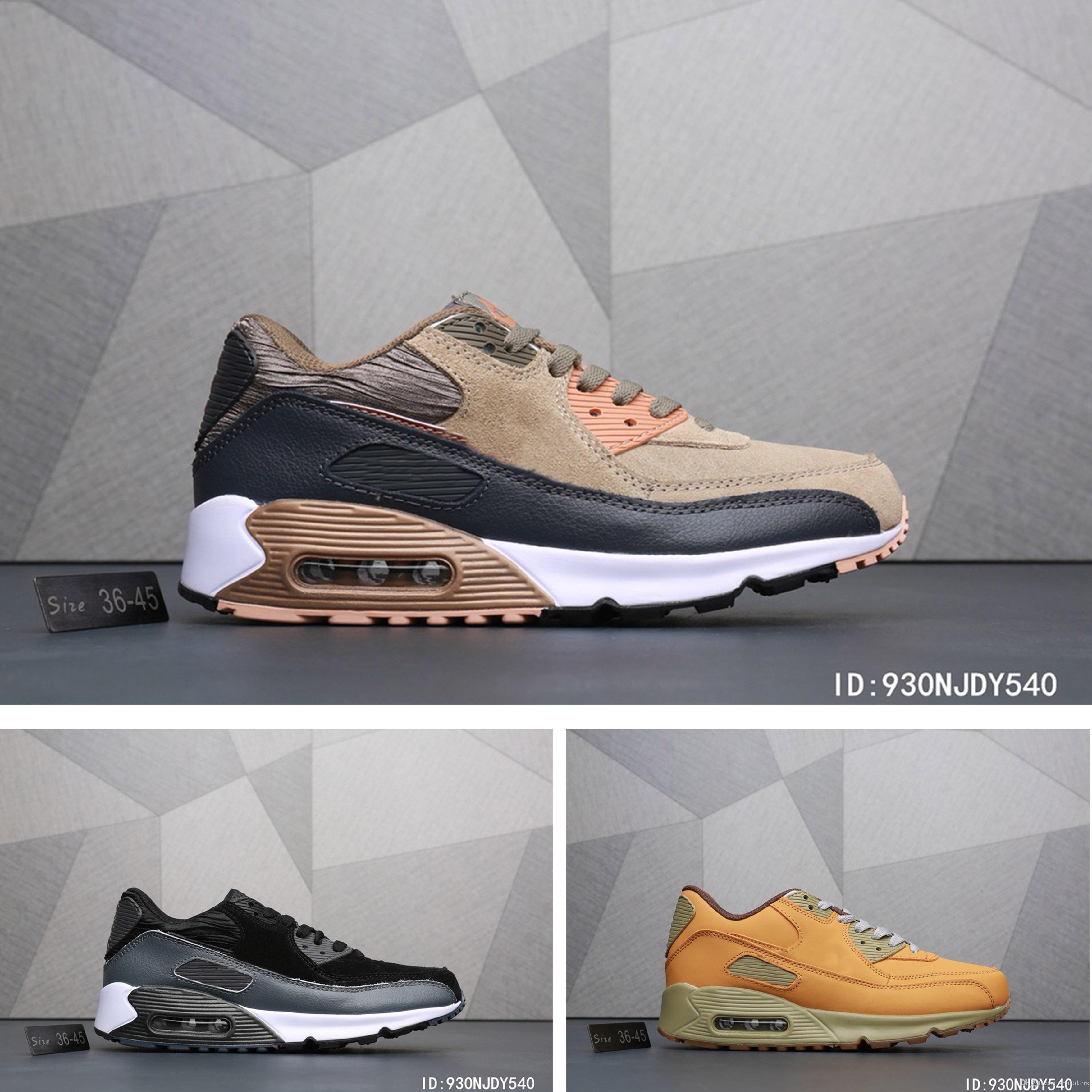 Air Hommes Trainer Shoes Nike Marque Chaussures 90 Respirante Max Women Surface Pour Décontractée Cushion Nouvelle De PTkZiuOX