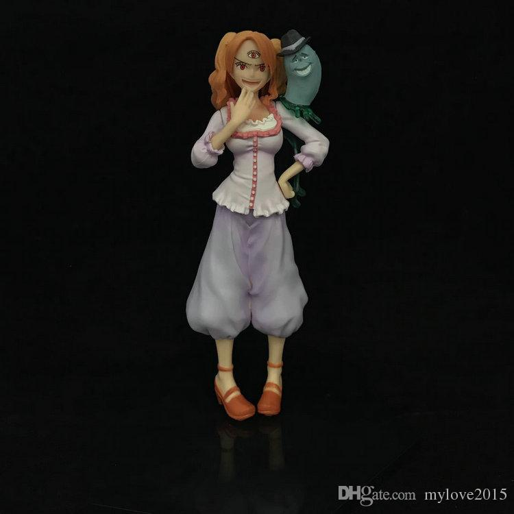 14cm One Piece BIG MOM Charlotte Pudding action figure toys Christmas gift toy doll with box
