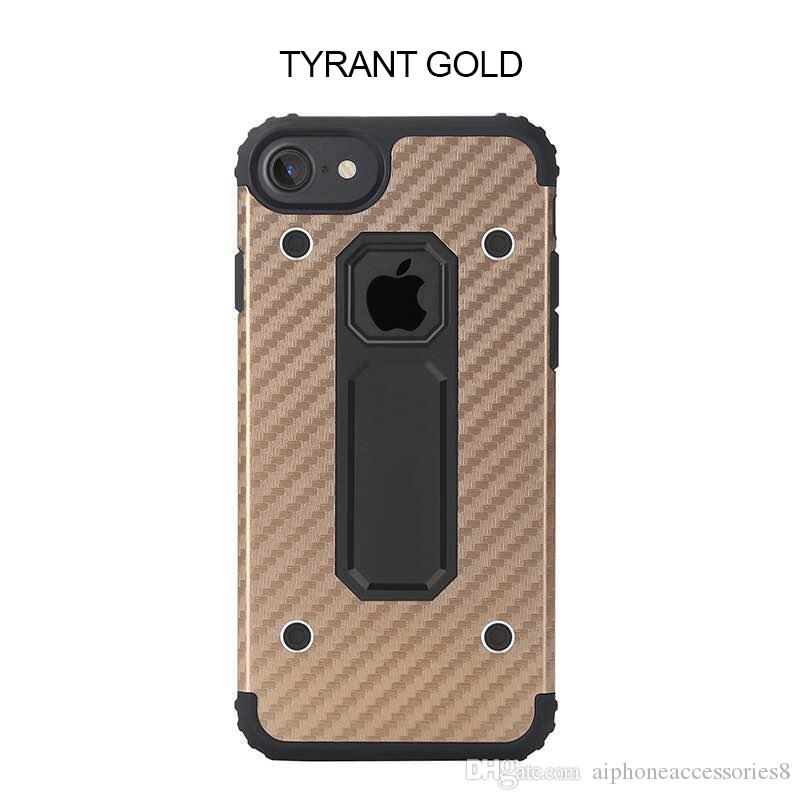 7 plus Hybrid Clip Kickstand cover For MOTOMO Armor Bracket Phone Cover Case for iPhone 7 Plus ShockProof Phone Cover with package