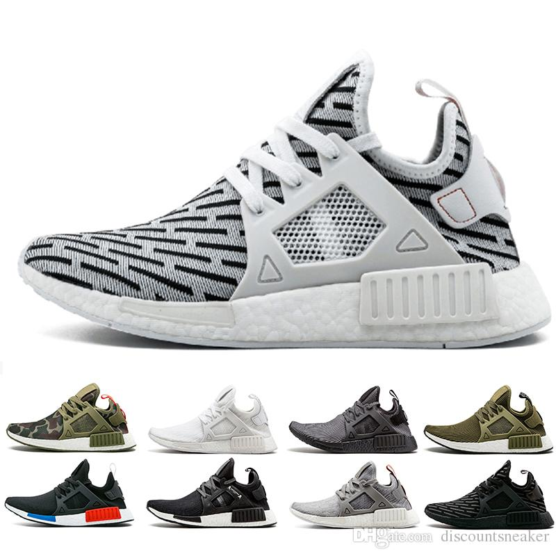 d7db08f739fb5 2018 NMD XR1 Sneaker Zebra Mastermind Japan Men Women Olive Green Glitch  Black White Camo PK NMD XR1 Primeknit Running Shoes Sports Shoes Running  Shop ...